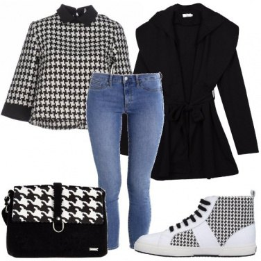 Outfit Non solo pied de poule