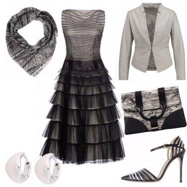 Outfit Romantico chic e un po\' rock