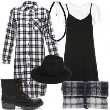 Outfit Check in bianco e nero