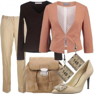 Outfit Un metro di beige
