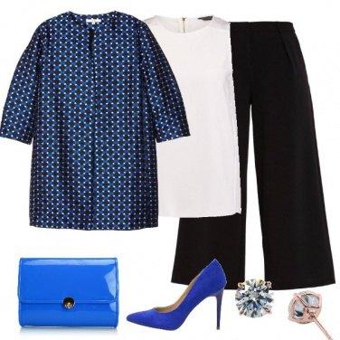 Outfit Blu elettrico