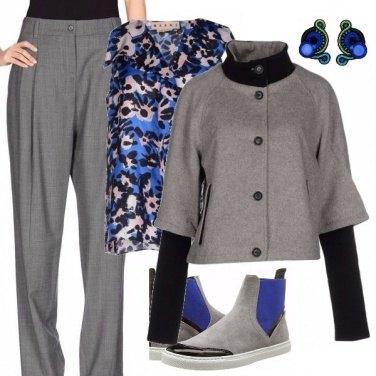 Outfit Blu profondo