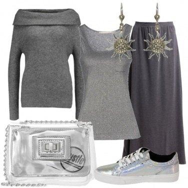 Outfit Sole sul grigio