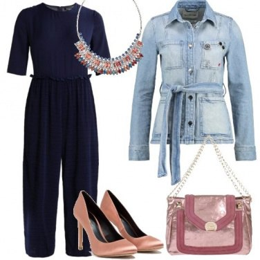 Outfit Giacca in denim