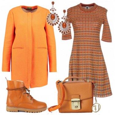 Outfit Sfumature d\'arancio