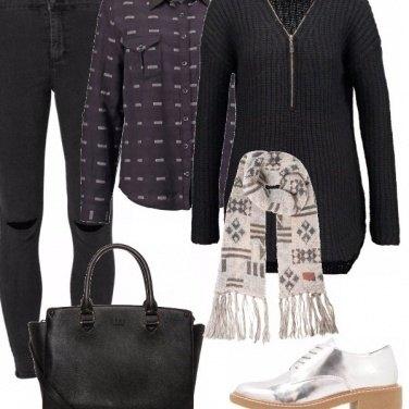 Outfit Il nero fa sempre tendenza