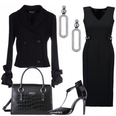 Outfit Tubino in total black