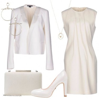 Outfit Tubino in total white