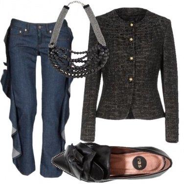 Outfit Estrosamente elegante