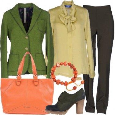 Outfit La giacchetta verde
