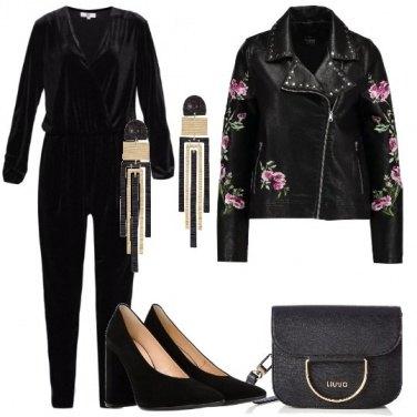 Outfit Fiori sul chiodo
