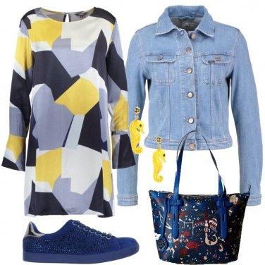 Outfit Sneakers per il vestito