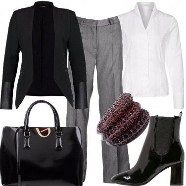 Outfit Brillante e formale