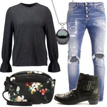 Outfit Comoda in jeans