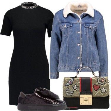 Outfit Vestitino nero