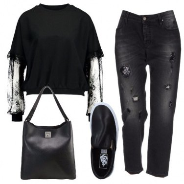 Outfit Donna in nero