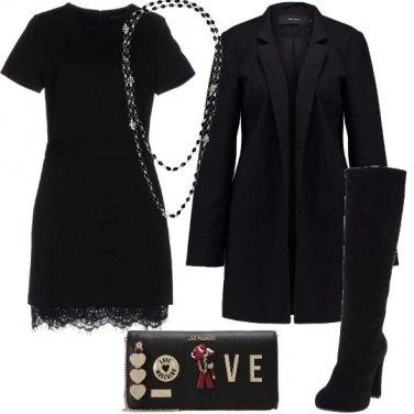 Outfit Mini abito e stivali