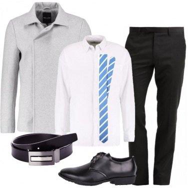 Outfit La giacca grigia