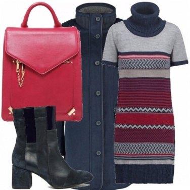 Outfit Blu&fragola_saldi