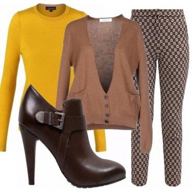 Outfit Brown&yellow_saldi