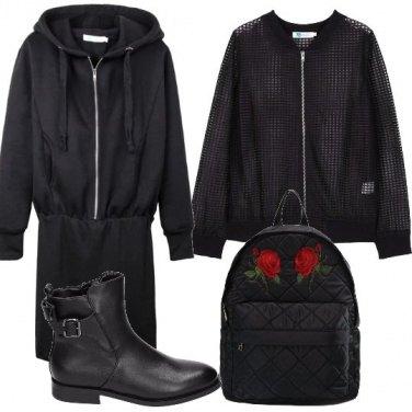 Outfit Urban nero