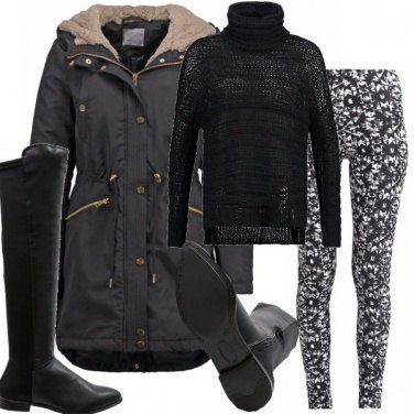 Outfit Evergreen il parka
