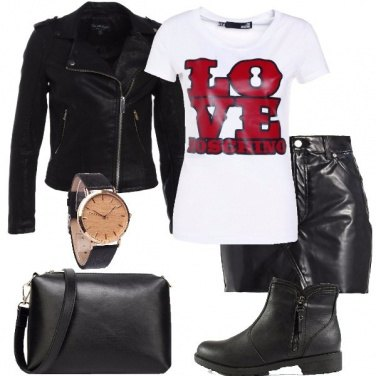 Outfit La t-shirt stampata