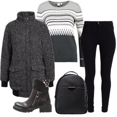 Outfit Al riparo dal freddo