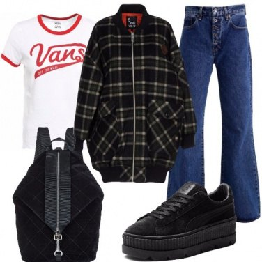 Outfit Lo street style ci conquista