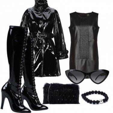 Come abbinare gli stivali con tacco spillo nero: 75 Outfit