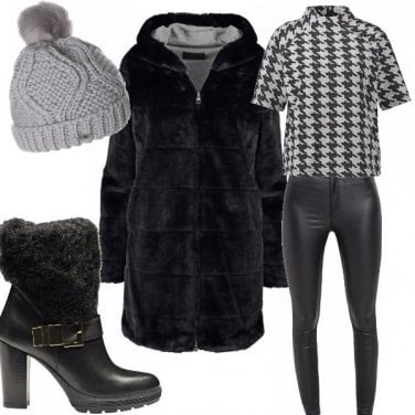 Outfit Calda pelliccia