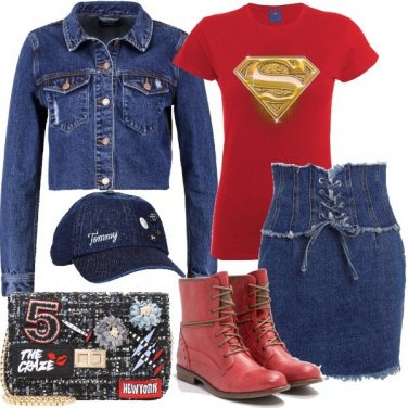 Outfit Super donna in città