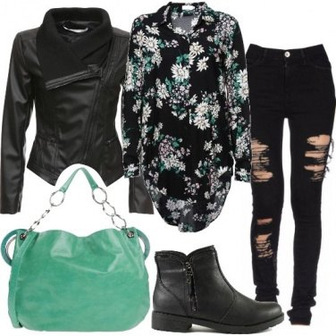 Outfit Fiori rock