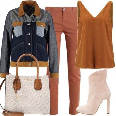 Outfit La giacca di jeans particolare