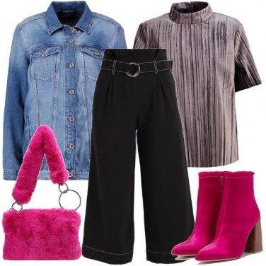 Outfit La borsa peluche