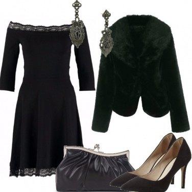 Outfit Nero elgante