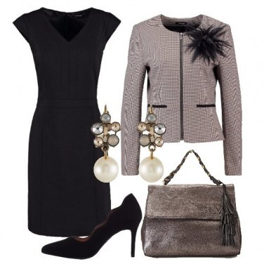 Outfit Tubino chic