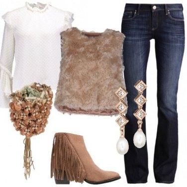 Outfit Raffinata con le frange