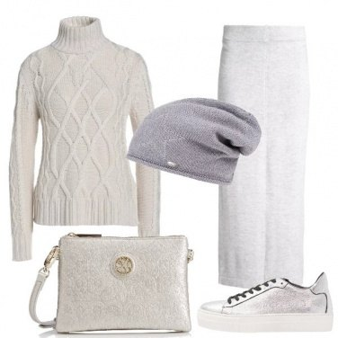 Outfit Il calore del grigio