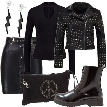 Outfit Piccola e rock