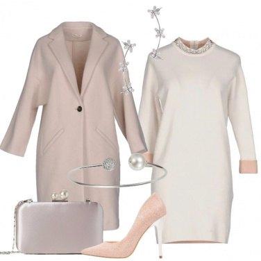 Outfit Il tubino avorio