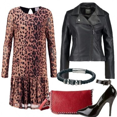 Outfit L\'abito maculato
