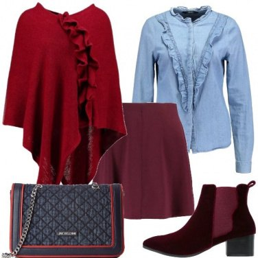 Outfit Una bella mantella