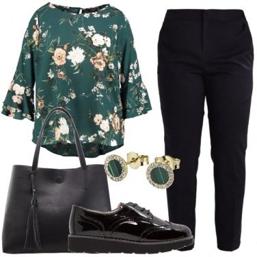 Outfit Camicetta green