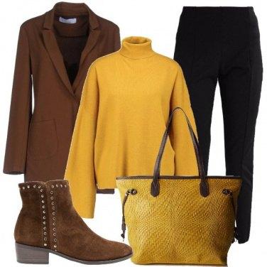 Outfit Il maglione e la giacca