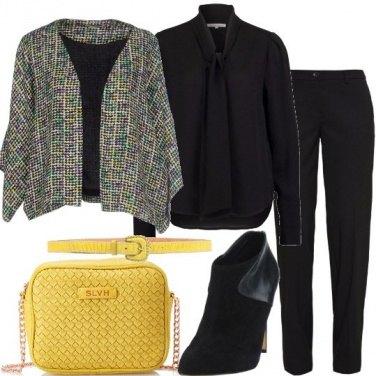 Outfit La tracollina gialla