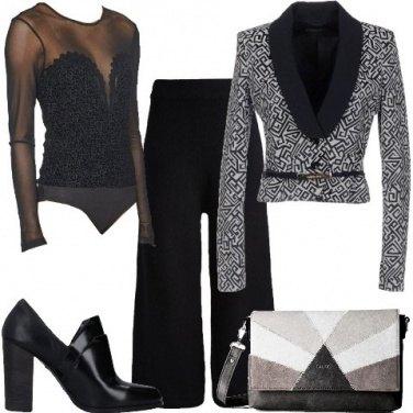 Outfit Il body sotto la giacca