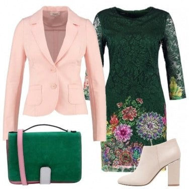 Outfit Fiori per un invito