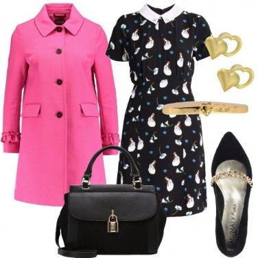 Outfit Il cappottino rosa