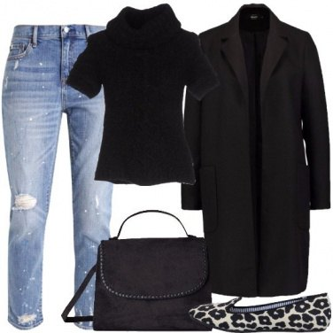 Outfit Il mocassino animalier